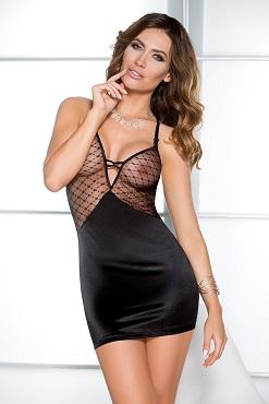 Черное платье Dallas chemise black
