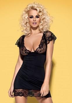 Сорочка черная (Obsessive)